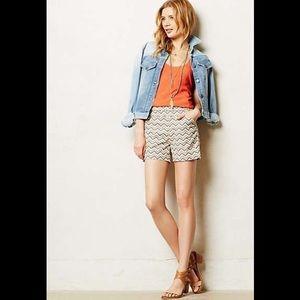 Anthropologie Cartonnier shorts